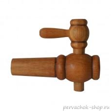 Кран дубовый для бочки Ставропольский бондарь