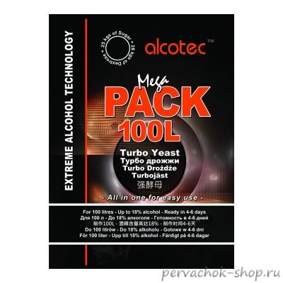 Дрожжи Alcotec Megapack 100L (Алкотек Мегапак), 360 г