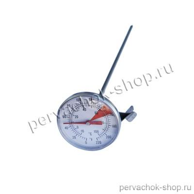 Термометр аналоговый со щупом 30 см и клипсой