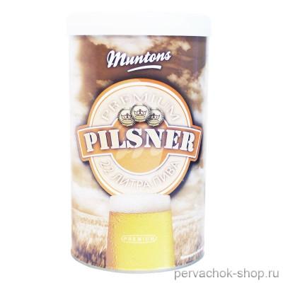 Солодовый экстракт Muntons Pilsner 1,5 кг (Мантонс)