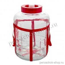 Банка с гидрозатвором 25 литров