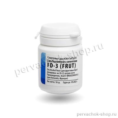 Дрожжи спиртовые SafSpirit FD - 3 (FRUT) (Сафспирт Фрут), 10 гр