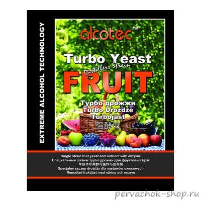 Дрожжи Alcotec Fruit Turbo Yeast (Алкотек Фрут), 60 гр