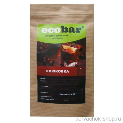 Набор трав и специй Клюковка Ecobar