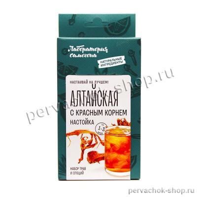 Алтайская с красным корнем настойка / набор трав и специй на 1 - 3 литра, Лаборатория самогона