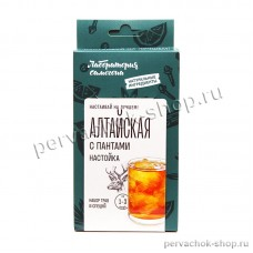 Алтайская с пантами настойка / набор трав и специй на 1 - 3 литра, Лаборатория самогона