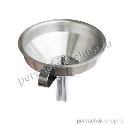 Воронка металлическая с фильтром d 11 см