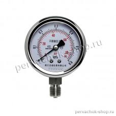 Манометр для измерения давления до 6 Атм, нержавейка