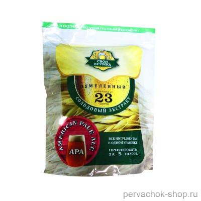 Солодовый экстракт Своя Кружка APA American Pale Ale, 2,1 кг
