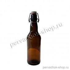 Бутылка с бугельной пробкой 0,5 л