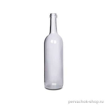 Бутылка винная Прозрачная 0,75 л